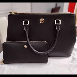 Tory Burch purse and wallet